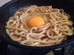Teryaki Noodles with chilli and egg