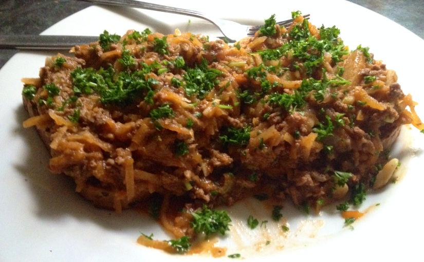 RECIPE: Mince on toast