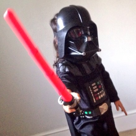 How Darth Vader defends my daughter's right to be a girl