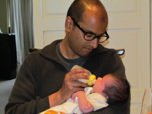 Stay-at-home dad, bottle feeding, paternity leave,