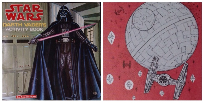 Death Star cookiess, Star Wars, Darth Vader Activity book