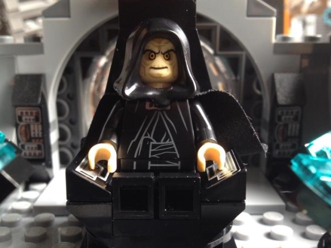 Emperor on throne