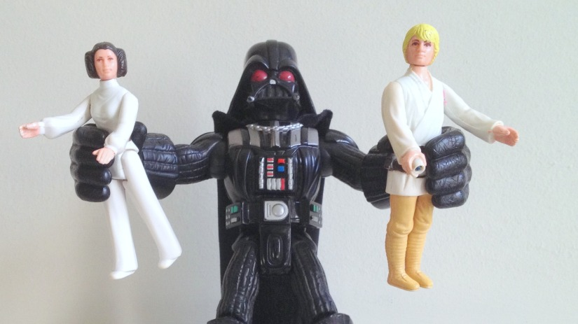 Darth Vader, Princess Leia, Luke Skywalker, Father's Day