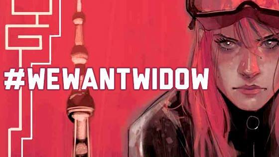 """How Come We Have More Cosplayers Than You Have Black Widow Merch?"" #WeWantWidow"