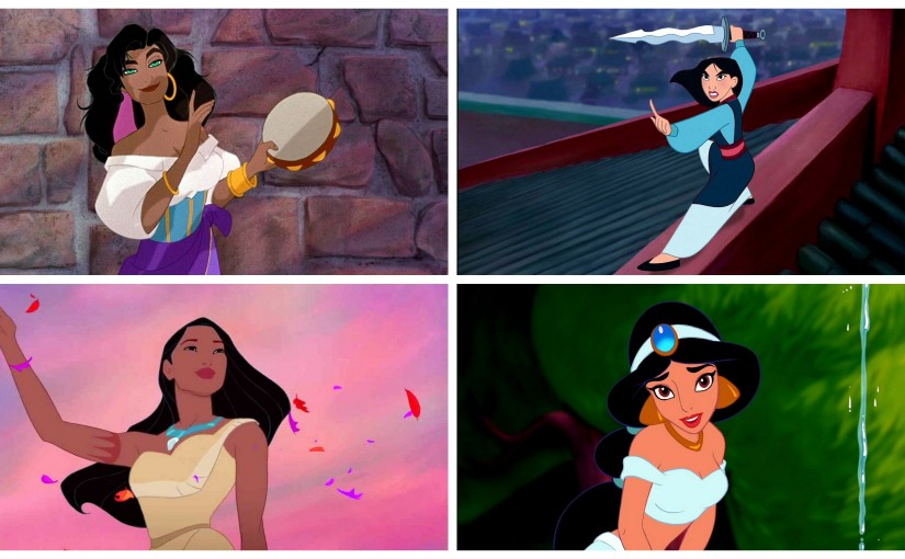 Celebrating Disney Princesses of Colour