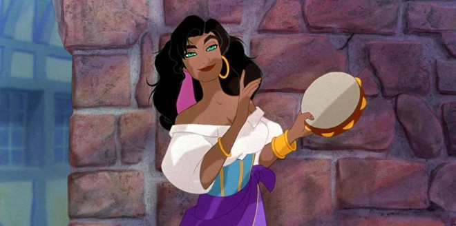 Esmeralda The Hunchback of Notre Dame, 1996, Disney Women of Colour, Disney Princesses of Colour, Disney Women of Color, Disney Princesses of Color