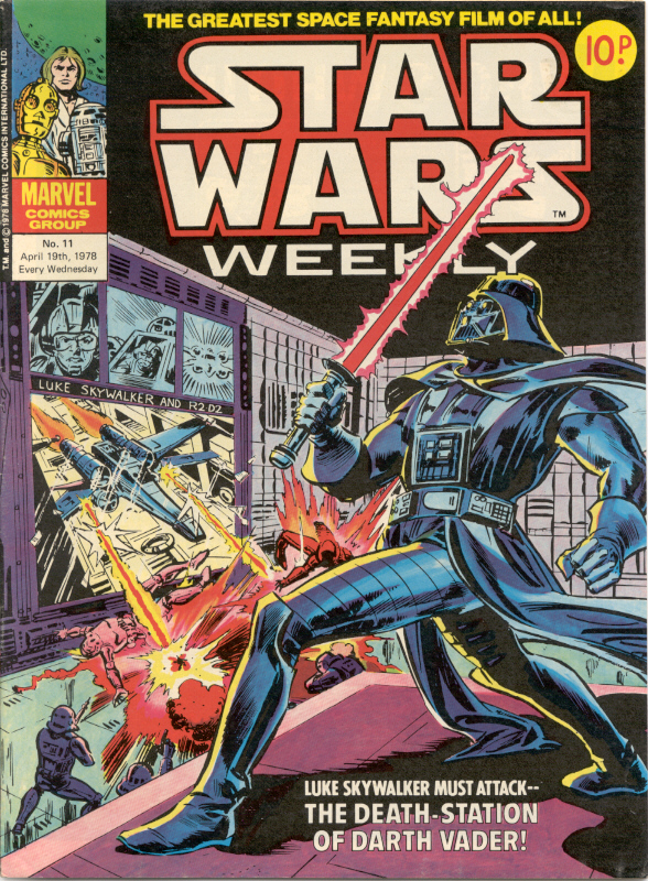 Marvel UK Star Wars Weekly Comic 1978 - issue 11