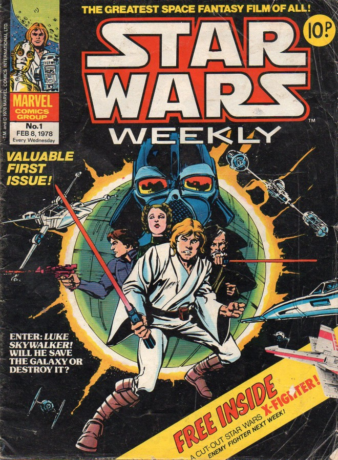 Marvel UK Star Wars Weekly Comic 1978 - issue 1
