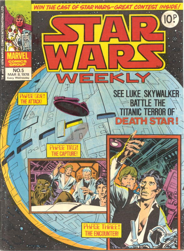 Marvel UK Star Wars Weekly Comic 1978 - issue 5