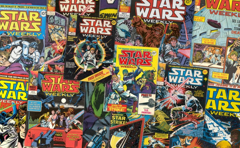 Marvel UK's 1978 Star Wars Weekly Comic