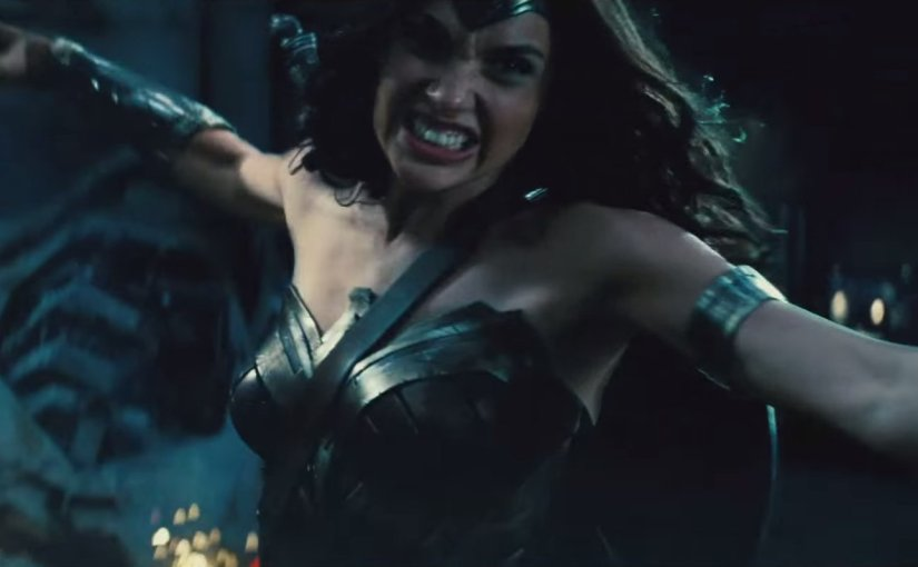 First Look at Wonder Woman in 'Batman v Superman: Dawn of Justice'