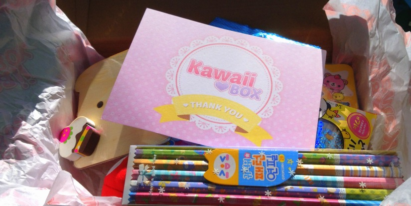Review & Giveaway: Kawaii Box – a Collection of Cute Items from Japan and Korea
