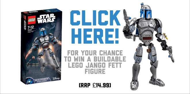 buildable LEGO Star Wars Jango Fett #75107