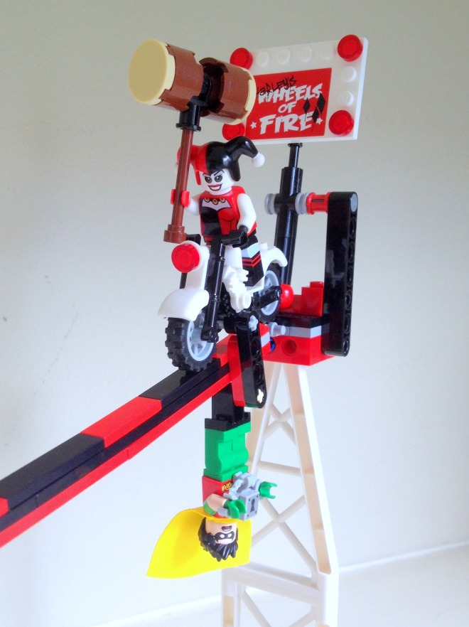 Jokerland LEGO DC Comics Superheroes 76035 Harley Quinn 2