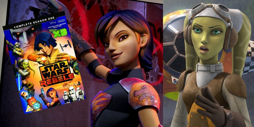 Star Wars Rebels – A Girl Friendly Galaxy Far, Far Away….