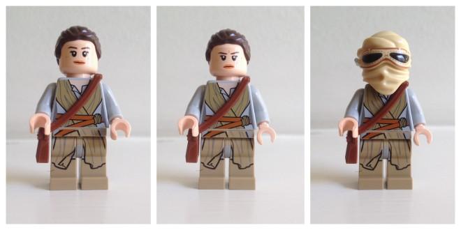 Rey LEGO minifig